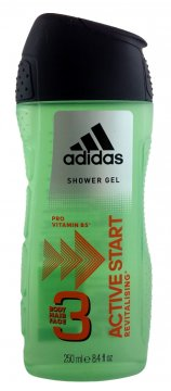 Adidas żel pod prysznic Active Start 3w1 Men (250ml) EAN:3607340726682