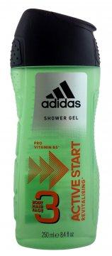Adidas żel pod prysznic Active Start 3w1 Men(250ml) EAN:3607340726682