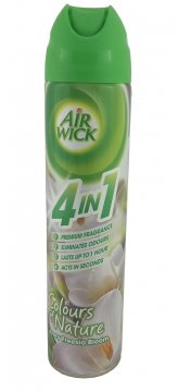 AIRWICK 4IN1 SPRAY IVORY ФРЕЗИЯ (240МЛ)