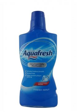 AQUAFRESH MOUNTHWASH FRESH MINT (500 МЛ)