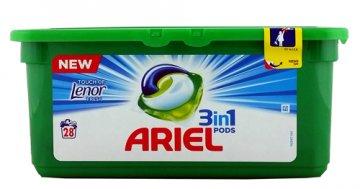 Ariel Caps 3in1 Color (28 szt)  EAN:8001090309556