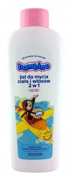 Bambino żel do mycia ciała i włosów 2w1-Dzieciaki (400ml) Ean: 5900017056586