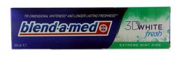 Pasta do zębów Blend-A-Med 3D White Fresh Extreme Mint Kiss(100ml) EAN:4015600620004