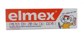 Elmex Toothpaste For Children 0-6 Years (50ml) Ean:4007965560101