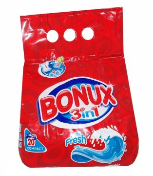 BONUX ACTIVE FRESH 3IN1 COMPACT  (1,4 KG)