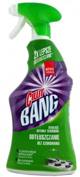 CILLIT BANG POWER CLEANER GREASE & SPARKLE (750ML)