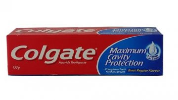COLGATE TOOTHPASTE MAXIMUM CAVITY PROTECTION (150G)