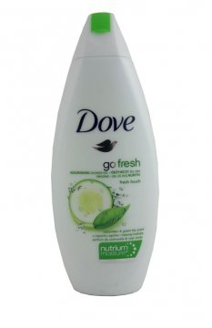 DOVE GO FRESH  TOUCH CUCUMBER & GREEN TEA  (250 МЛ)