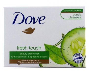 Mydło w kostce Dove Fresh Touch (100g) EAN:8712561538077