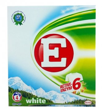 E White 4 washes (280G) EAN:9000100947251