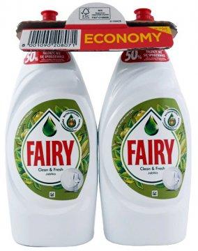 Fairy Apple Płyn do mycia naczyń  (2x900ml) EAN:8001090207722