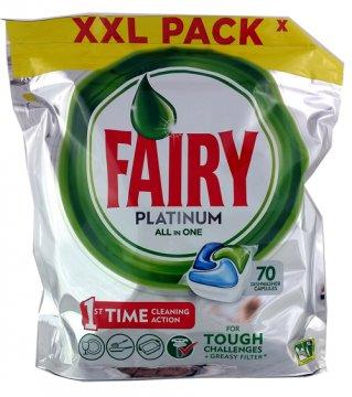 Fairy Caps Platinum Regular (70 Szt.) (Ean:8001090150646)