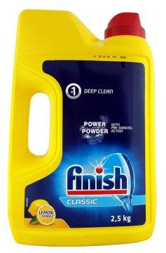 Finish Power Lemon Proszek do zmywarek (2,5kg) EAN:8594002681500
