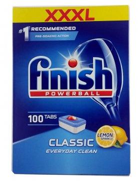 Tabletki do zmywarek Finish Tabs Powerball Classic Lemon(100szt) EAN:5997321733616
