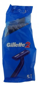 Maszynki do golenia  Gillette 2 worek (5 szt) EAN: 3014260287030