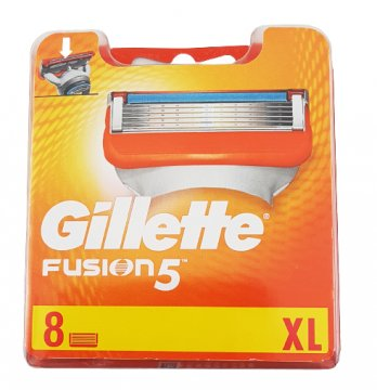 Wkłady do maszynki Gillette Fusion (4szt) EAN:7702018874460