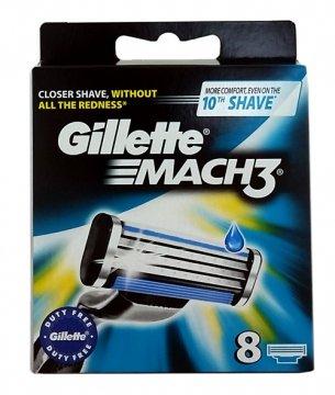 Gillette Mach 3 Wkłady (8szt) EAN:3014260243548