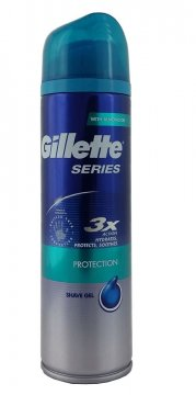 GILLETTE SHAVE GEL SERIES PROTECTION (200 ML)