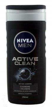 Nivea żel pod prysznic Active Clean Men(250ml) EAN:4005900123749