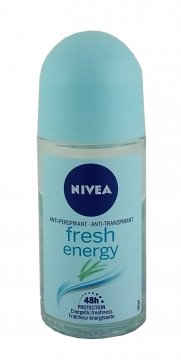 Antyperspirant w kulce Nivea Energy Fresh Roll-On (50ml) EAN:4005900121707