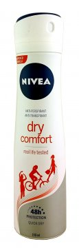 NIVEA DRY COMFORT WOMAN (150ML)