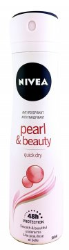 fsafaDezodorant Nivea Deo Spray Woman Pearl&Beauty (150ml) EAN:4005900087843