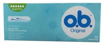 Tampony OB Original Super Plus(16szt) EAN:3574660089356
