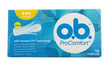 Tampony OB Procomfort Normal(16szt) EAN:3574660294996