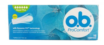 Tampony OB Procomfort Super Plus(16szt) EAN:3574660416657