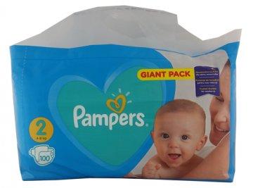 Pampers New Gp Mini Nr 2 (100 szt) (4-8kg) EAN:8001090949370