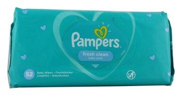 Pampers Chusteczki Fresh Clean (52 szt) EAN:8001841078090