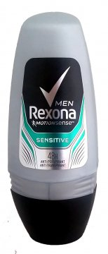 REXONA DEO ROLL ON 50ML SENSITIVE MEN