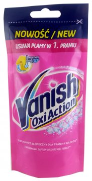 VANISH OXI ACTION LIQUID PINK (100 ML ) EAN 5900627007886