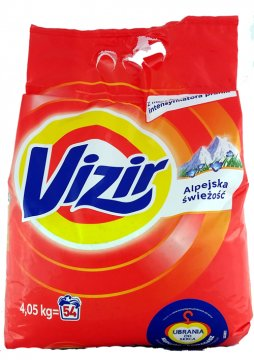 VIZIR  ALPINE FRESHNESS COMPACT (3KG)