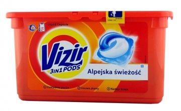 VIZIR GO PODS ALPINE FRESH WASHING CAPSULES  (38 PCS) EAN 8001090310156