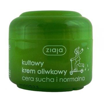 Ziaja Krem Naturalna Oliwkowy Cera Sucha Normalna (50ml) EAN:5901887000013